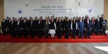 Delegates with PM Modi at the Heart of Asia conference.