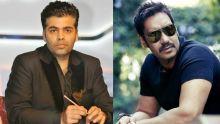 Karan Johar and Ajay Devgn
