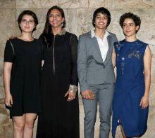 Fatima Sana Shaikh, Geeta Phogat, Babita Phogat, Sanya Malhotra
