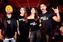 Diljit Dosanjh, Kareena Kapoor Khan, Alia Bhatt and Shahid Kapoor