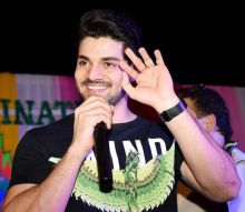 Sooraj Pancholi at Janidevi school