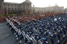 Bands from the military and other security forces will take part in Beating the Retreat ceremony.