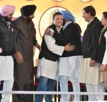 AAP and SAD had previously mocked Congress for not announcing its CM candidate.