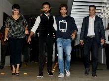 Hrithik Roshan with Rohit Roy and Ronit Roy