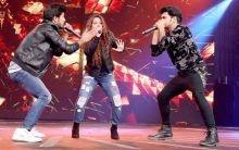 The musical trio Ragdeep (Radni, Gaurav and Pradip) are complete entertainers. Each singer has a different quality as they can sing, rap and beatbox.