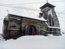 Snow at Kedarnath