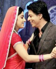 Deepika Singh with Shah Rukh Khan