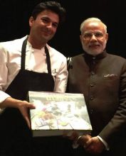 Indian Prime Minister, Narendra Modi, was gifted a copy of Utsav in 2015. The PM congratulated Vikas Khanna for his achievement, and called the book a part of India's national heritage.