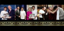 Utsav: A Culinary Epic of Indian Festivals is a unique cookbook, and not just because of its content. The handcrafted, gold-gilded book has been gifted to major world leader by its eminent author, and Michelin starred chef, Vikas Khanna.