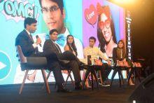 From Left- Ratul Puri, Shashwat Goenka, Mansi Kirloskar, Rohan Murthy and Ananya Birla