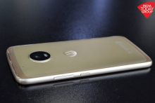 Moto G5 Plus: Cool curves and a touch of gold