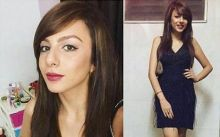 Nitibha Kaul gets ready for the party.