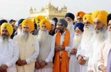 After spending close to an hour in the Golden Temple complex, Harjit Singh Sajjan left for his native village, Bambeli in Hoshiarpur.