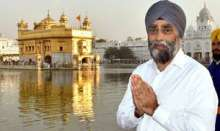 Canadian Defence Minister Harjit Singh Sajjan offered prayers at the holiest of Sikh shrines 'Harmandir Sahib' in Amritsar city of Punjab on Thursday morning. Sajjan reached the holy city of Amritsar from New Delhi on Wednesday evening.