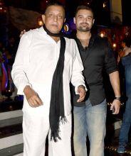 Mithun Chakraborty with Mahaakshay Chakraborty
