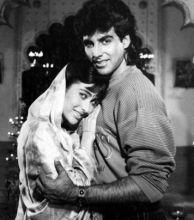 Akshay Kumar and Karisma Kapoor