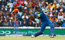 On his return, the Lankan captain, steered his team to victory with a handsome 52 off 45 balls.