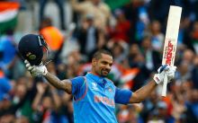 Shikhar Dhawan smashed his 10th ODI hundred, finishing with 125 off 128 balls.