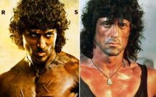 Tiger Shroff and Sylvester Stallone
