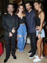 Anees Bazmee, Neha Sharma, Anil Kapoor and Aisha Sharma