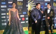 Alia Bhatt (L) and Salman Khan