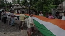 Assam, long national flag