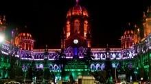 Chatrapati Shivaji Terminus Mumbai Independence Day