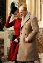 Prince Philip with Sophie Countess