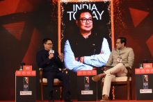 Kiren Rijiju at India Today Conclave East 2017
