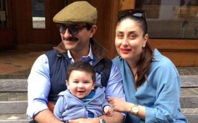 Taimur Ali Khan and Kareena Kapoor Khan