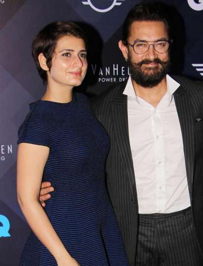Fatima Sana Shaikh and Aamir Khan