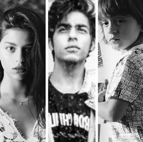 Suhana Khan, Aryan Khan, AbRam Khan