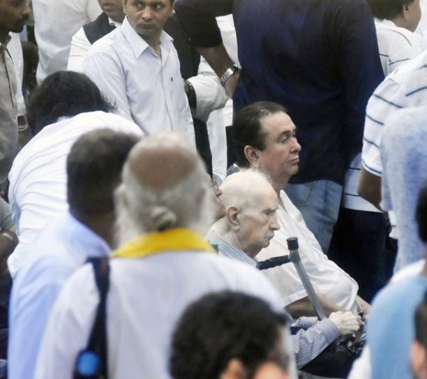 Shashi Kapoor funeral
