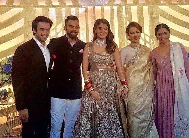 Punit Malhotra, Virat Kohli, Anushka Sharma, Kangana Ranaut