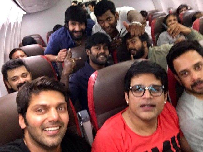 Arya, Shyam, Bharath, Vishal, RK Suresh