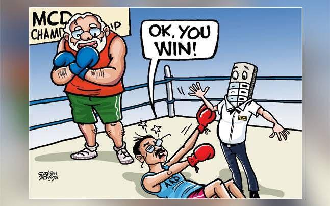 Satish Acharya cartoon