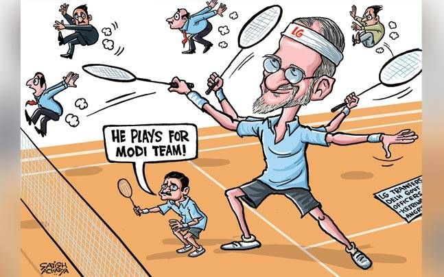 Satish Acharya cartoons