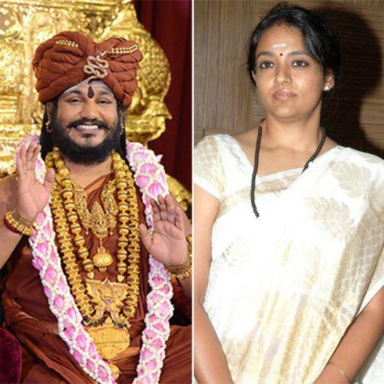 Nithyananda and Ranjitha