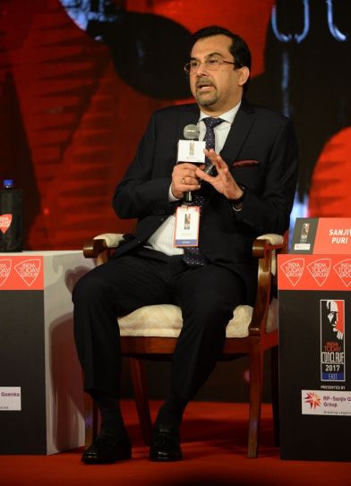 Sanjiv Puri at India Today Conclave East 2017