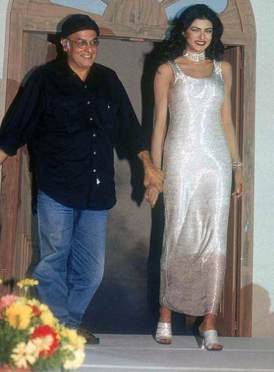 Sushmita Sen with mahesh bhatt