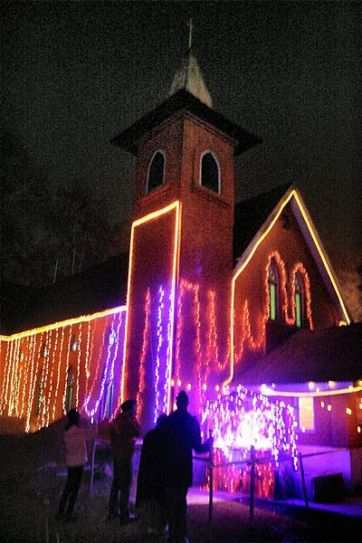 Srinagar church.