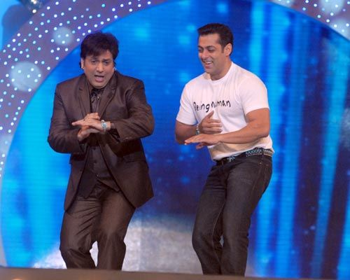 Salman and Govinda