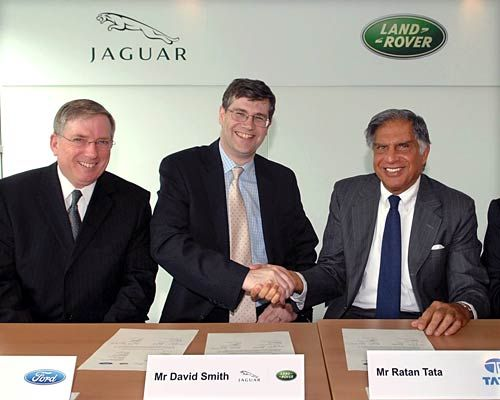 Tata Motors and Jaguar Land Rover sign the landmark deal