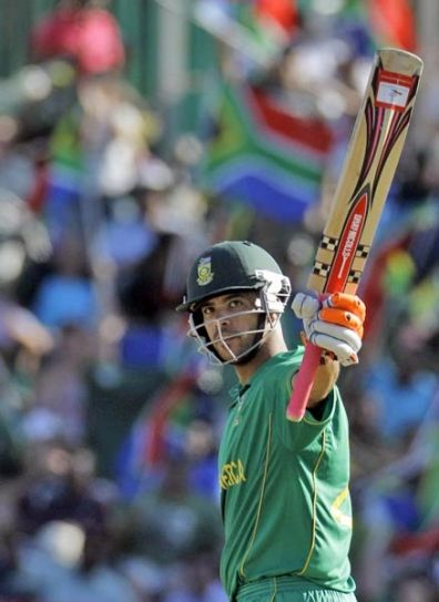 South Africa's Jean-Paul Duminy