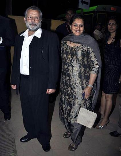 Pankaj Kapoor with wife Supriya Pathak