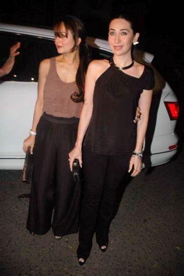 Karishma and Amrita Arora
