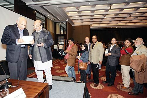 MJ Akbar's book launch