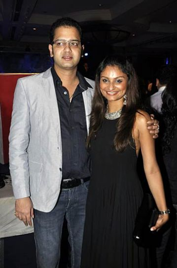 Dimpy and Rahul Mahajan