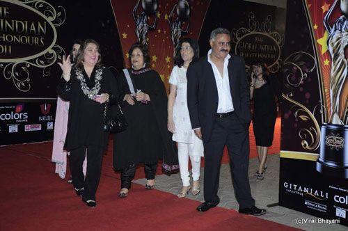 Reema Kapoor and Hiroo Johar