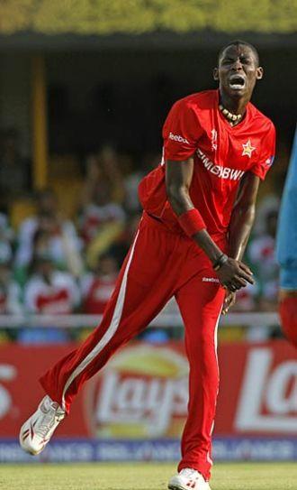 Zimbabwe's Chris Mpofu
